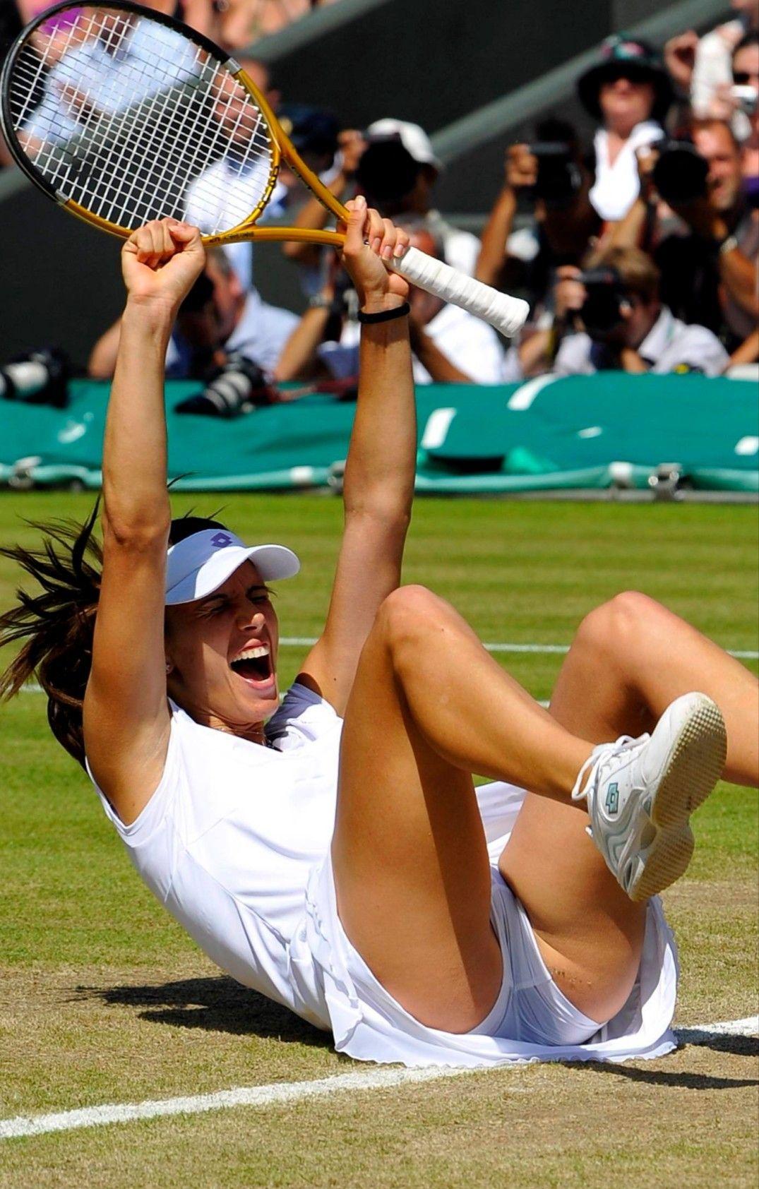 Belgian Tennis Babes Topless