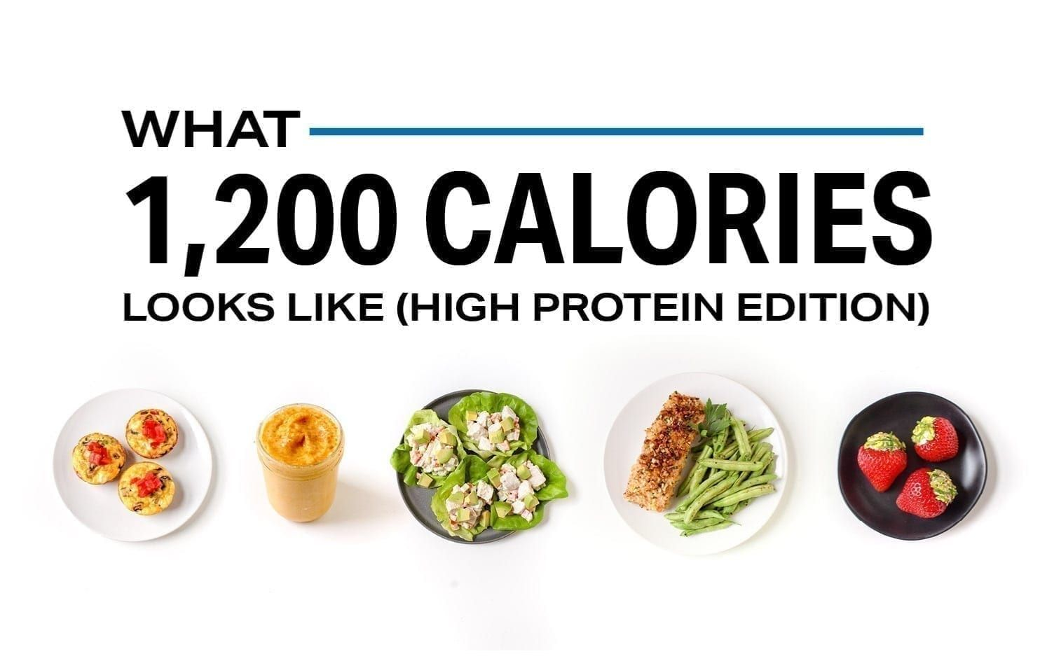 What 1,200 Calories Looks Like (Protein Edition) | Nutrition | MyFitnessPal