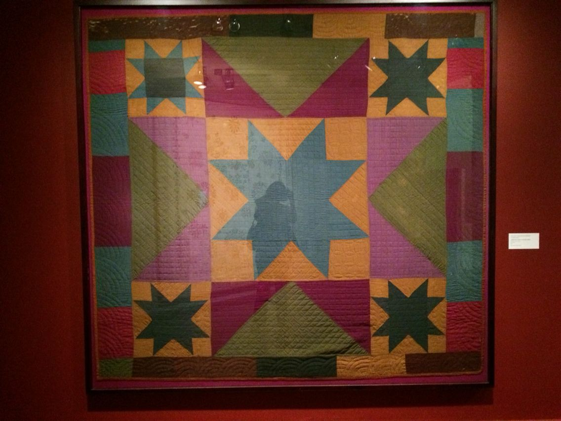 Center Star Bettdecken Center Star With Corner Stars Quilt Unidentified Member Of The