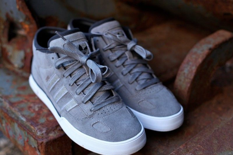 soft as suede. adidas ciero. grey. like concrete. to use. just add board. keep rolling.