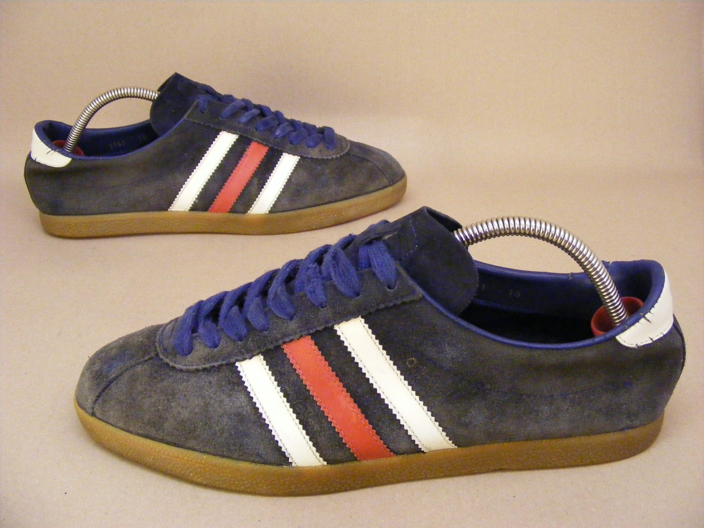 vintage Adidas Köln Art : 3153 10 trainers sneakers shoes suede RARE 70s  80s blue vtg