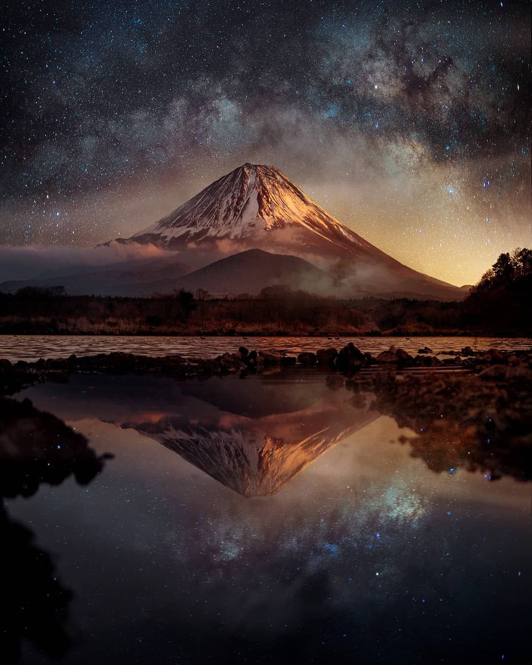 Perfect Night Nature Life On Earth Stars Galaxy Milky Way Night Photography Nature Reflection Nature Photography Landscape Photography Nature