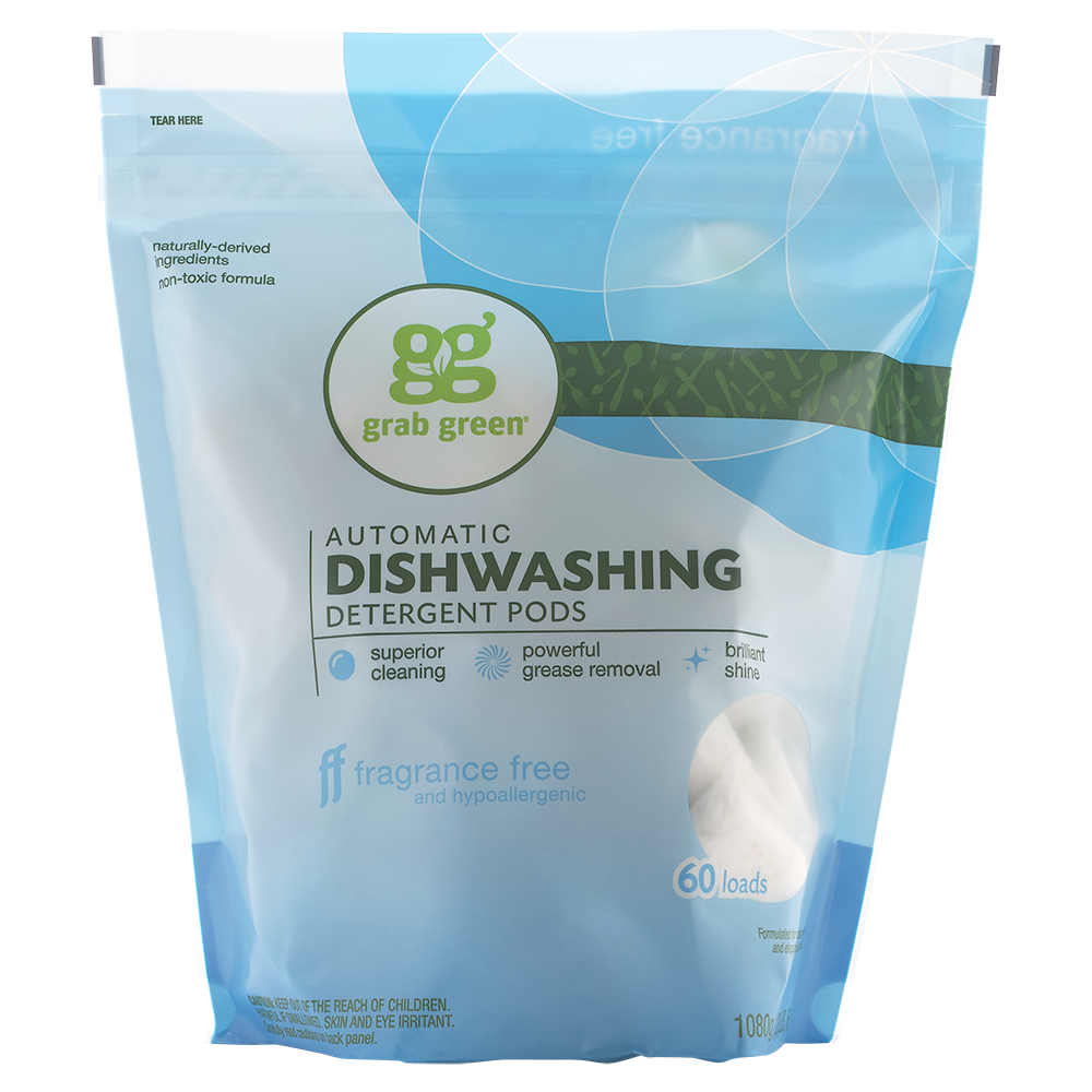 If You Have Allergies Or Sensitivities Scented Detergents Can Bring On A Big Headach Natural Dishwasher Detergent Dishwasher Detergent Fragrance Free Products
