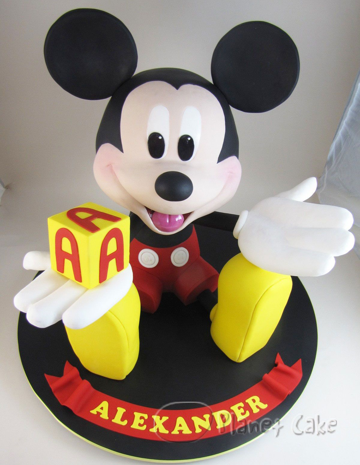 Pin Mickey Mouse Cake Picture To Pinterest Mickey And Minnie