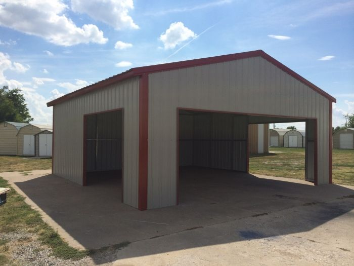 Barns/Shops - Winslows custome building in Texas. Metal ...