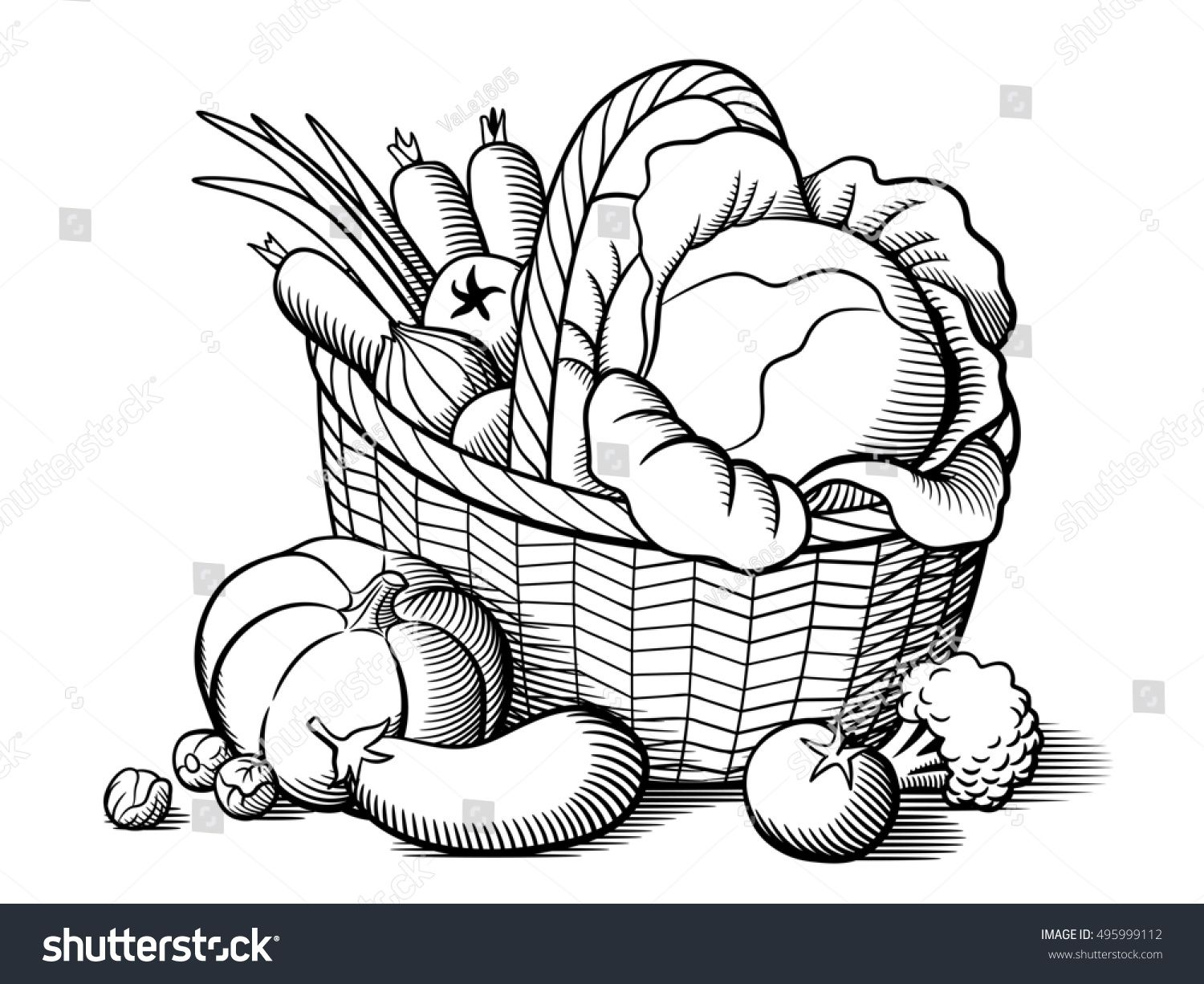Image Result For Clipart Vegetables Black And White Jesus Art Drawing Art Drawings Sketches Creative Fruits Drawing