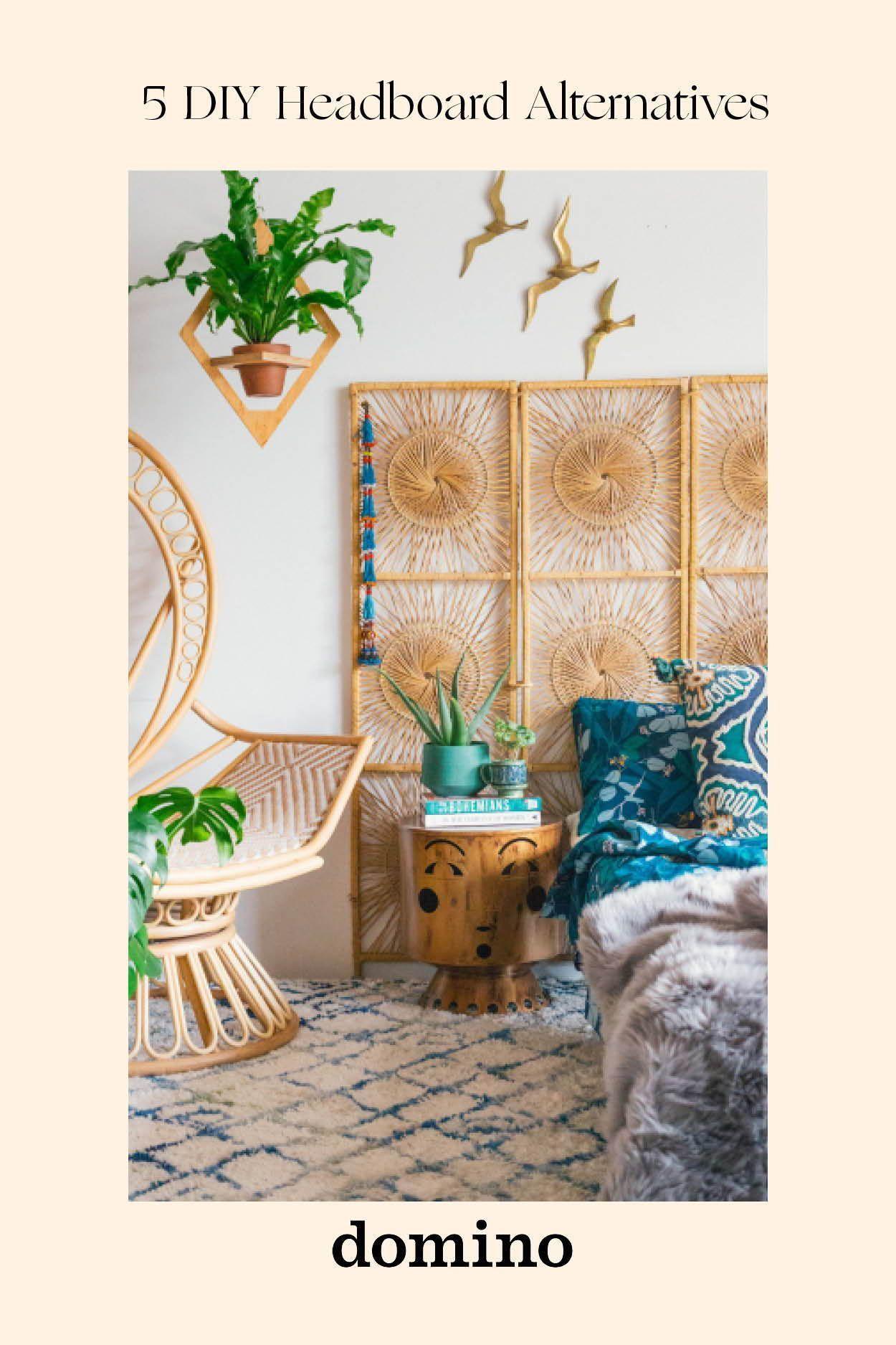 Natural Home Decor DIY Headboards: rattan room divider # ...