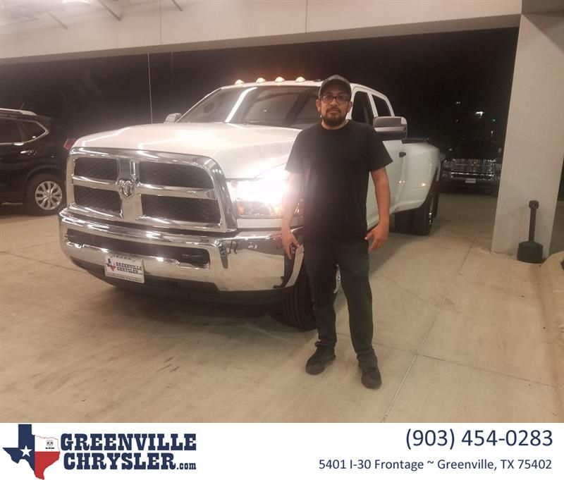 Congratulations Romy On Your Ram 3500 From Rosa Hernandez At