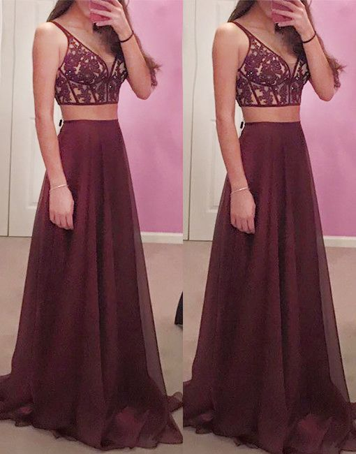 Burgundy wine colored homecoming dresses