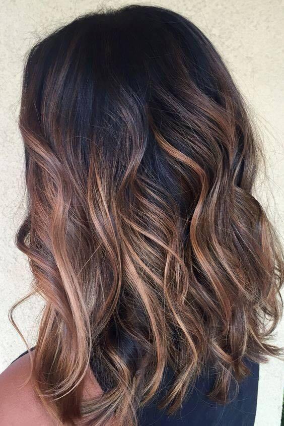 Tendencia balayage en cabello corto cabello pinterest balayage cabello y peinados - Balayage gris sur brune ...