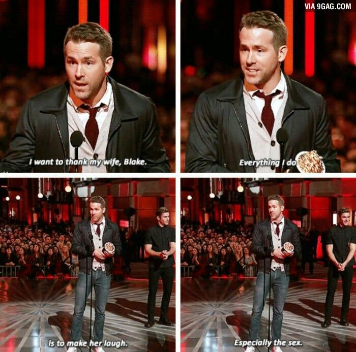 Pin by Taylor Denton on Nerd Love | Ryan reynolds funny ...