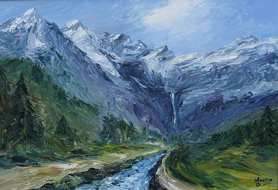 Gavarnie Hautes Pyrenees Art Mountains Natural Landmarks