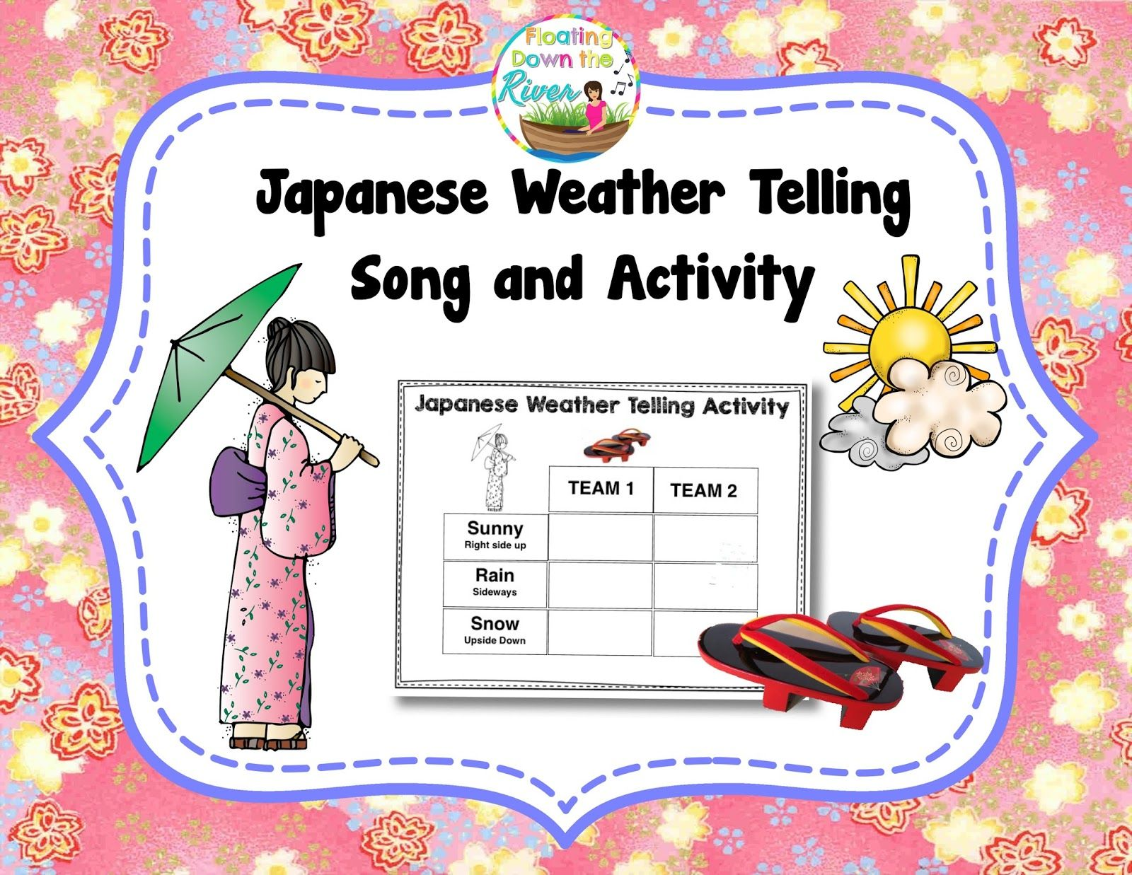 Floating Down The River Japanese Weather Telling Game