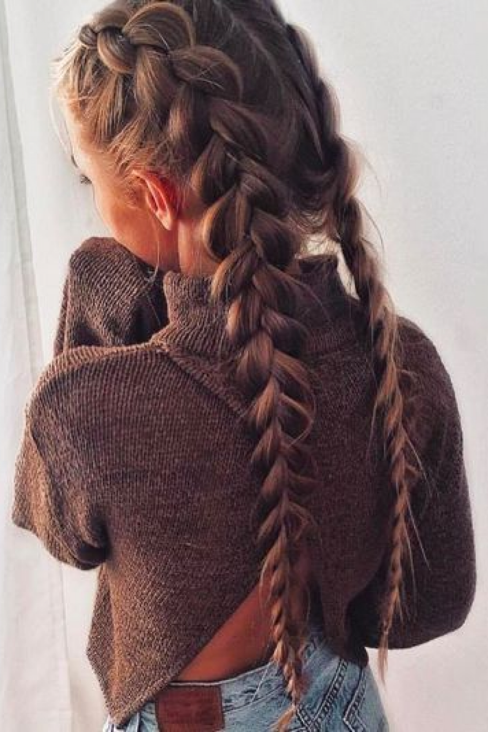 26 Easy Tips For Double Braid Pictures Ideas Designs Hair Styles Long Hair Styles Casual Hairstyles