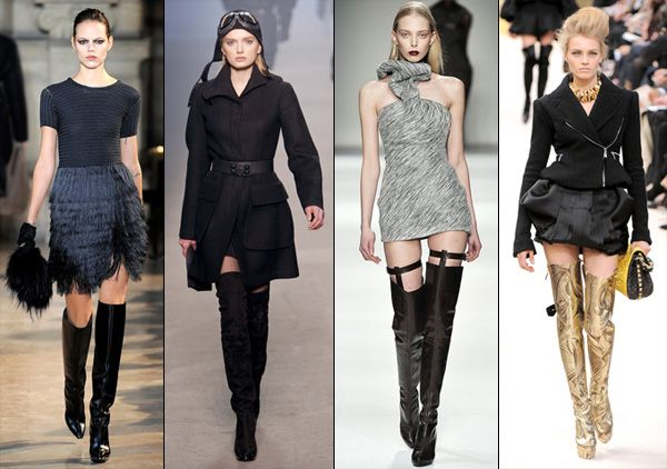 1000  images about Fashion - Over the knee boots on Pinterest