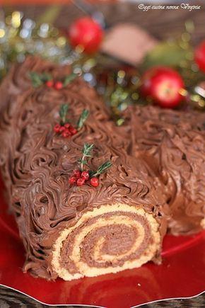 Ricette Bimby Dolci Natalizi.Tronchetto Di Natale Al Mascarpone O Buche De Noel Ricette