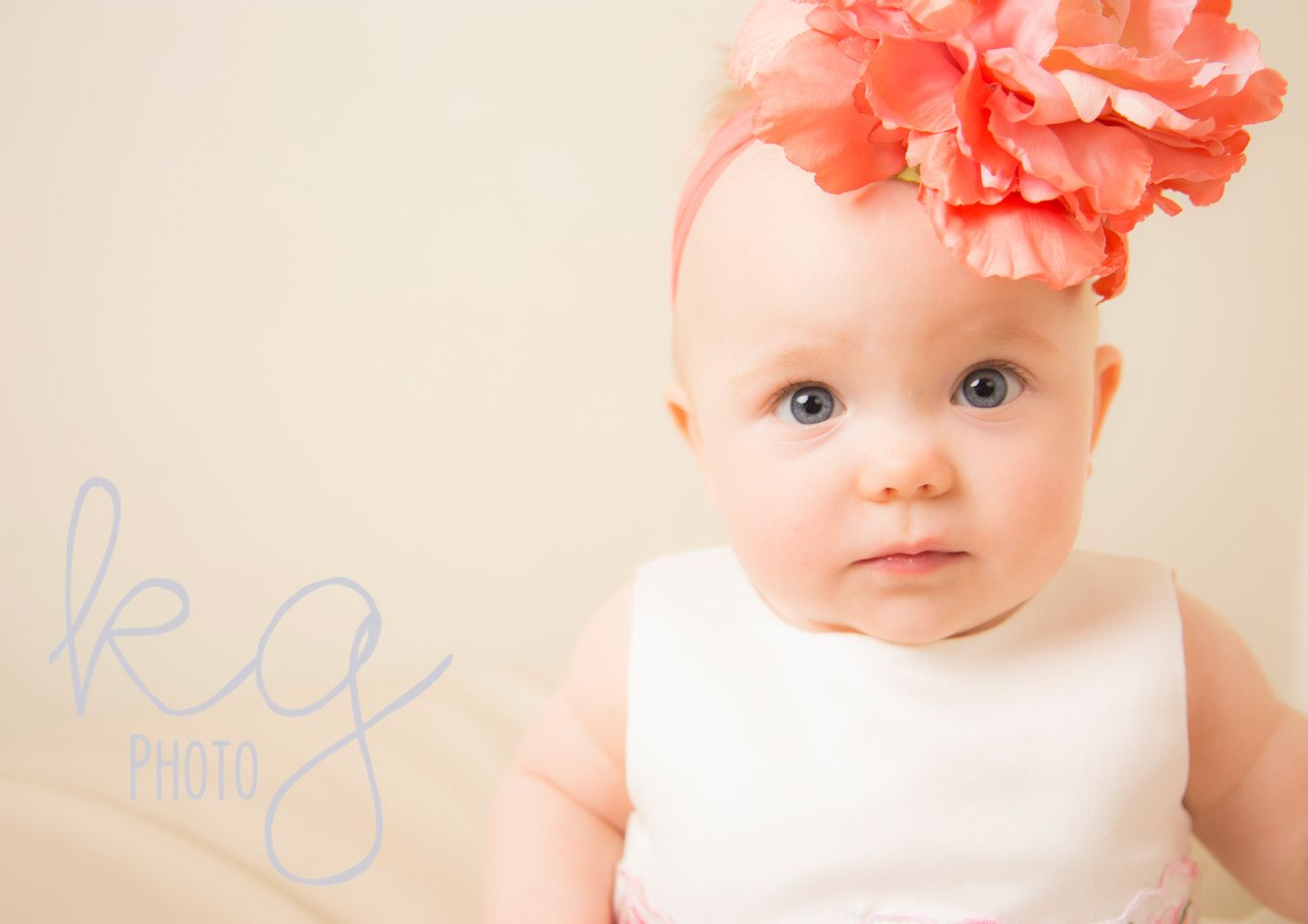 baby girl 6 months old www.kimgimsonphotography.com