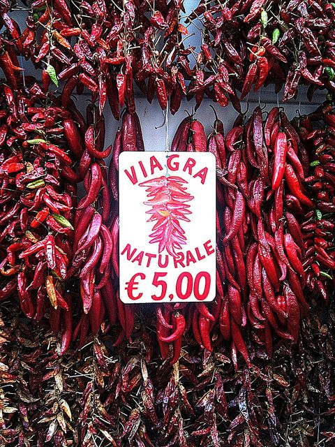 Amalfi, Italy - Peppers  Viagra Naturale