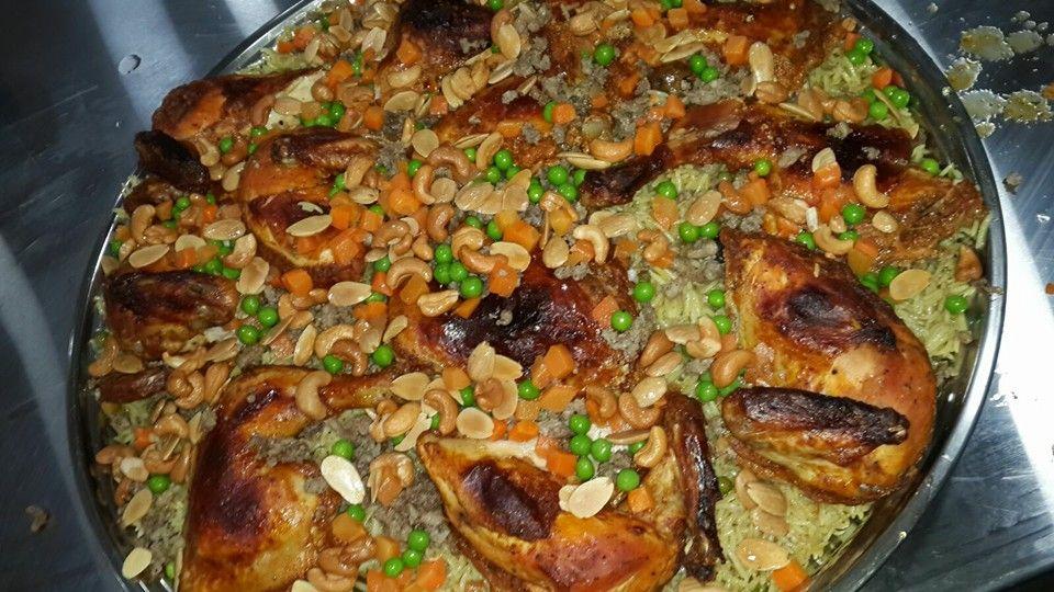 اوزي بالدجاج من المطبخ الاردني Cooking Arabic Food Food