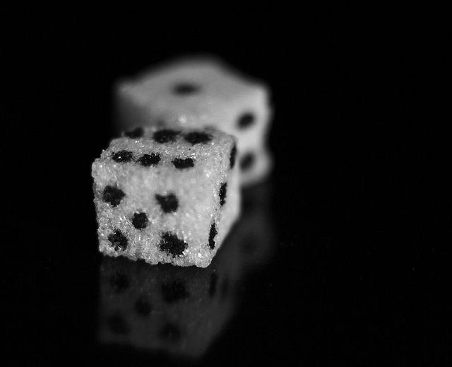 Rolling the sugar dice