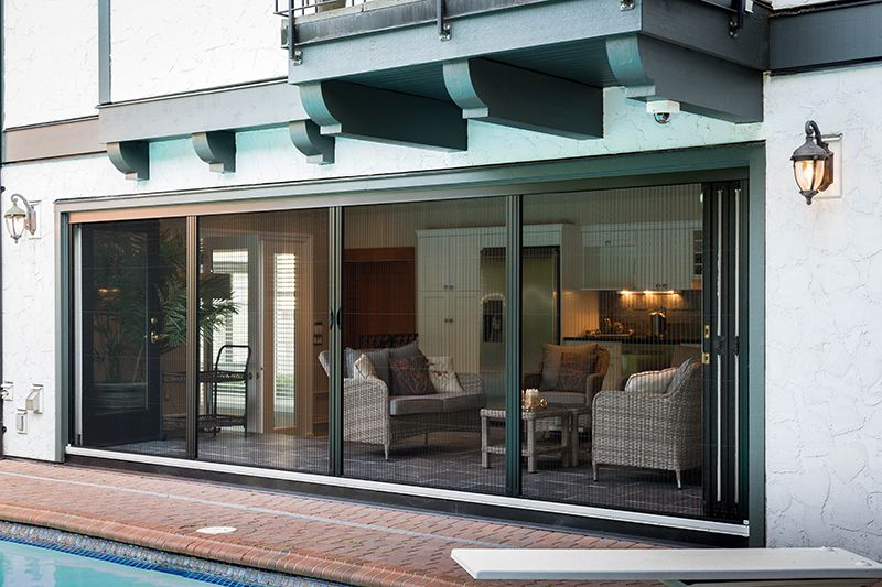Genius Screens Offers Retractable Screening Solutions For Doors Windows And Other Openings Such As Patios Verandas Retractable Screen House Deck Deck Layout