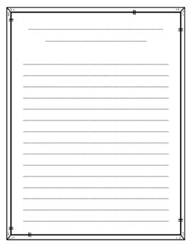 Publishing Paper Freebie Lined Writing Paper Writing Paper Template