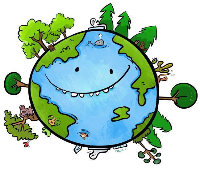 Картинка чистая планета для детей, про мужей