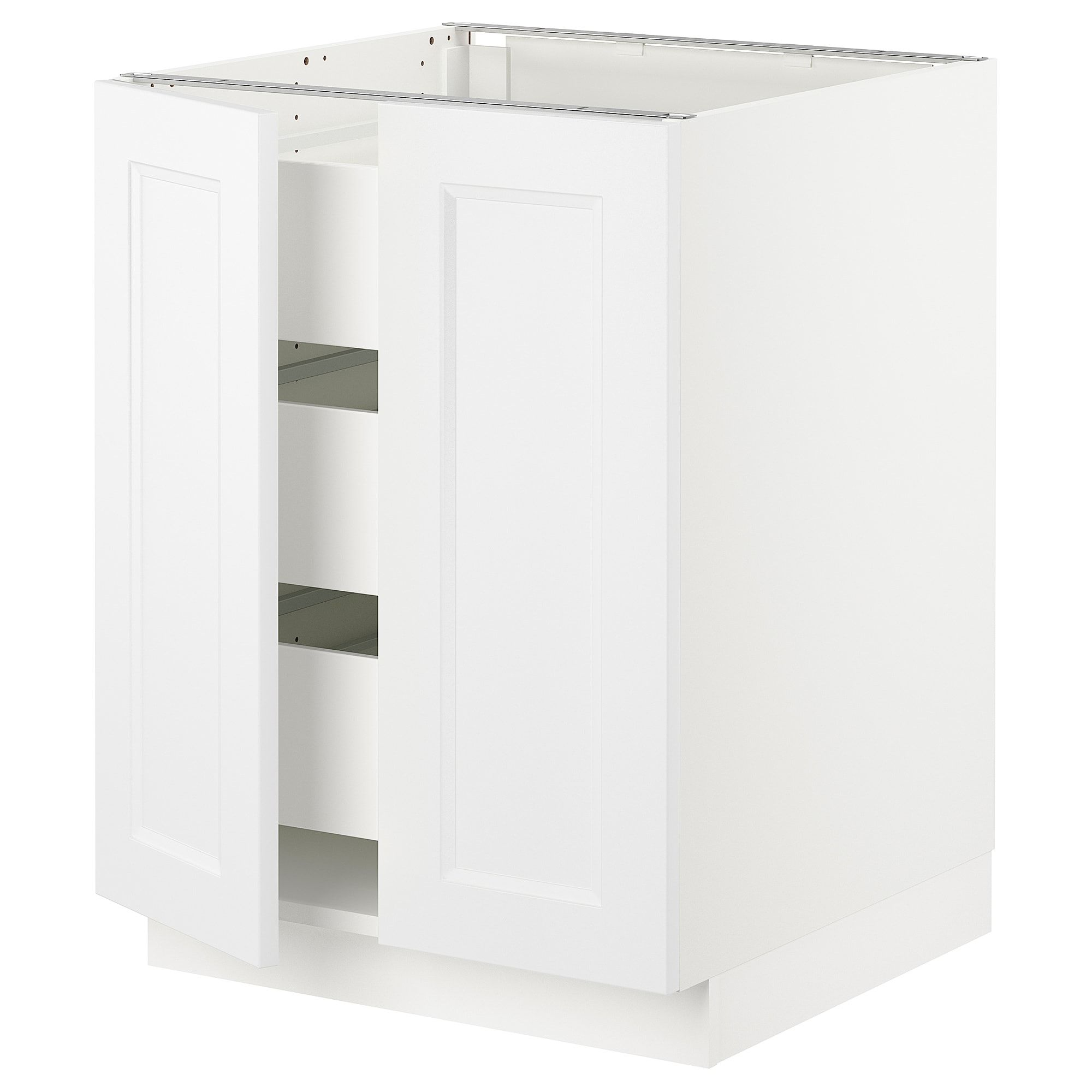 IKEA SEKTION White Maximera, Axstad Matt White Base cabinet ...