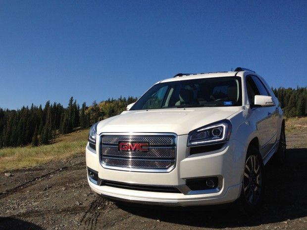 2013 Gmc Acadia Denali Impresses On And Off The Beaten Path Acadia Denali Gmc Vehicles Gmc