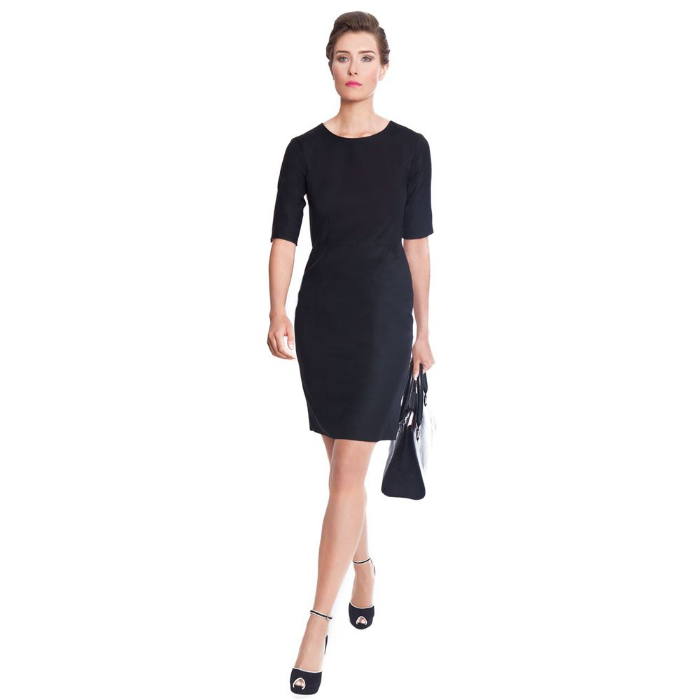 Touran Black Business Dress by Nooshin Touran #dress | Wear To ...