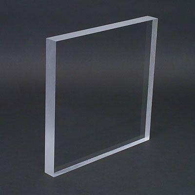 1 Thick 12 X 24 Clear Cast Acrylic Plexiglass Sheet Plexiglass Sheets Plexiglass Styrene Sheets