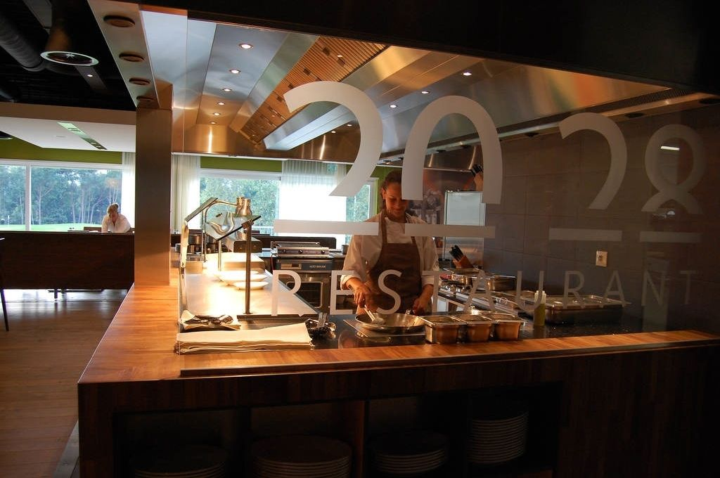 Open Kitchen Restaurant Concept Google Search Open Kitchens Pinterest Open Kitchen