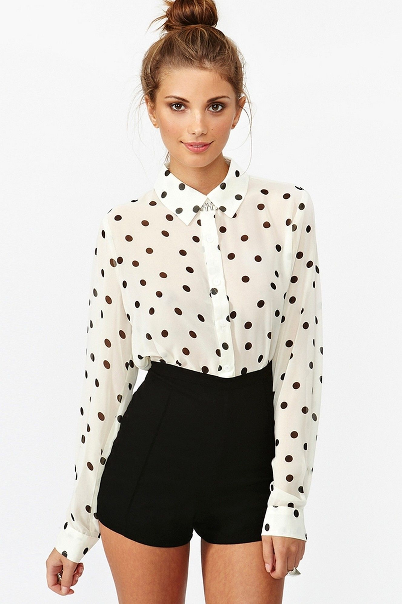 25 polka cool dot outfit