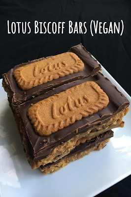 Photo of Lotus Biscoff Bars (Vegan)