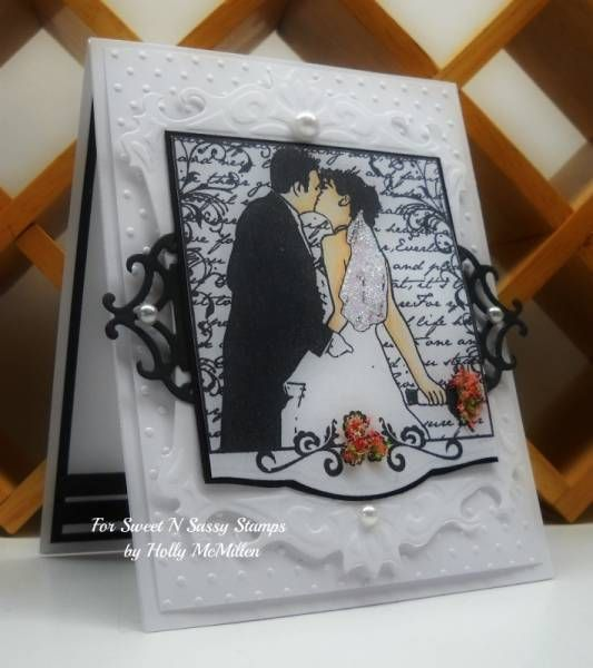 Wedding Collage Clear Stamp Set - Sweet 'n Sassy Stamps