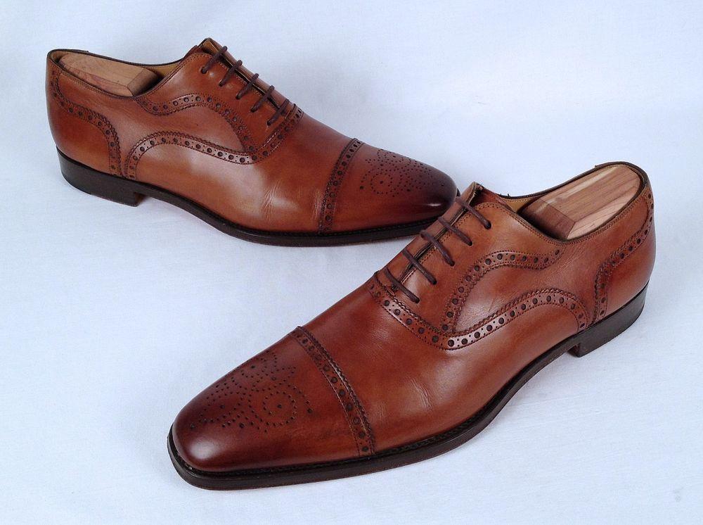 Dress Shoes Cognac Cap Toe