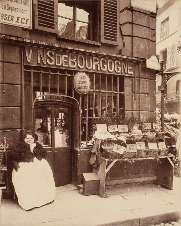 Le vieux Paris par Eugène Atget
