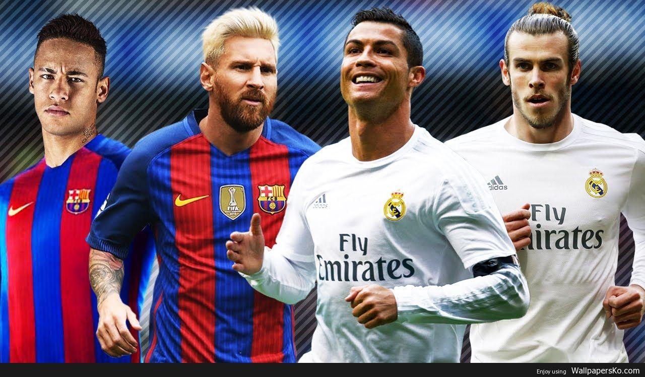 Neymar Messi Vs Ronaldo Bale Http Wallpapersko Com Neymar