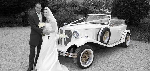 2 Door Beauford Wedding Car www.spiritweddingcars.co.uk