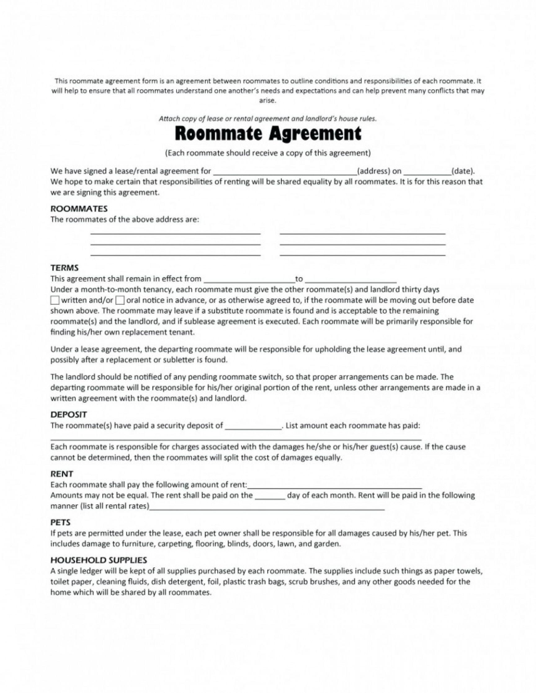 Editable 024 Template Ideas House Rental Agreement Malaysia Home