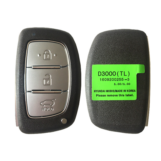 Replacement Smart Remote Car Key Fob 433MHz ID47 for Hyundai Tucson 2016-2017