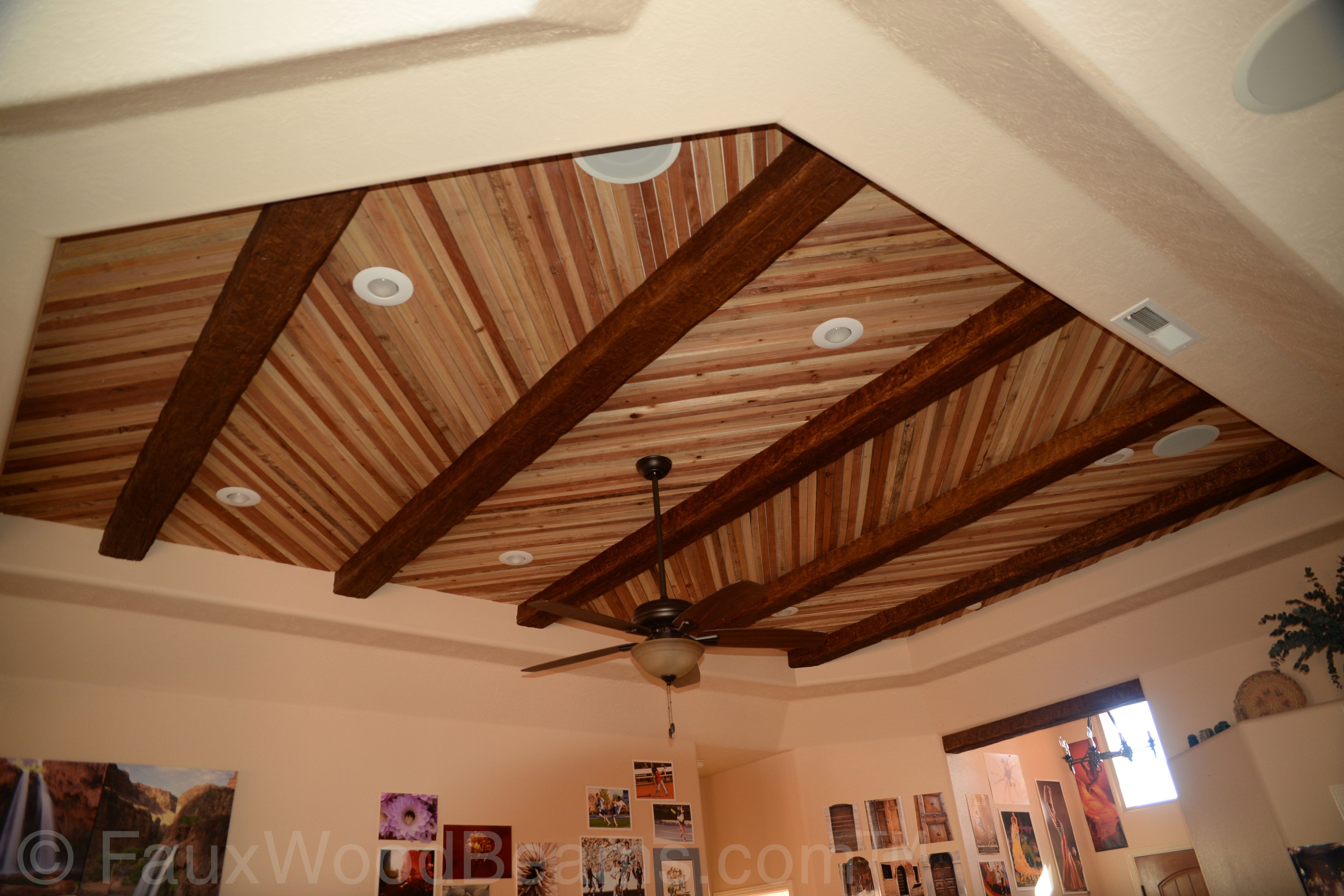 It S Standard Operating Procedure To Paint Your Walls A Color While Keeping The Ceiling Whit Ceiling Alternatives Drop Ceiling Alternatives Metal Ceiling Tiles