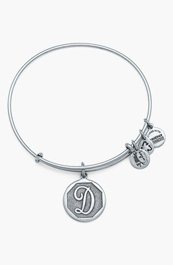 Perfect For Best Friends Nieces And Cousins Alex Ani Initial Adjule Wire Bangle Available At Nordstrom