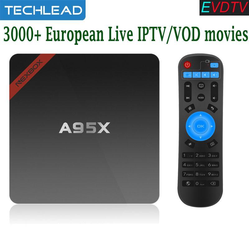 EVDTV 3000+ European live TV channels French Arabic Portugal