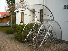 Cervotec Cerpan Modell 1500 Fahrradgarage Fahrradgarage
