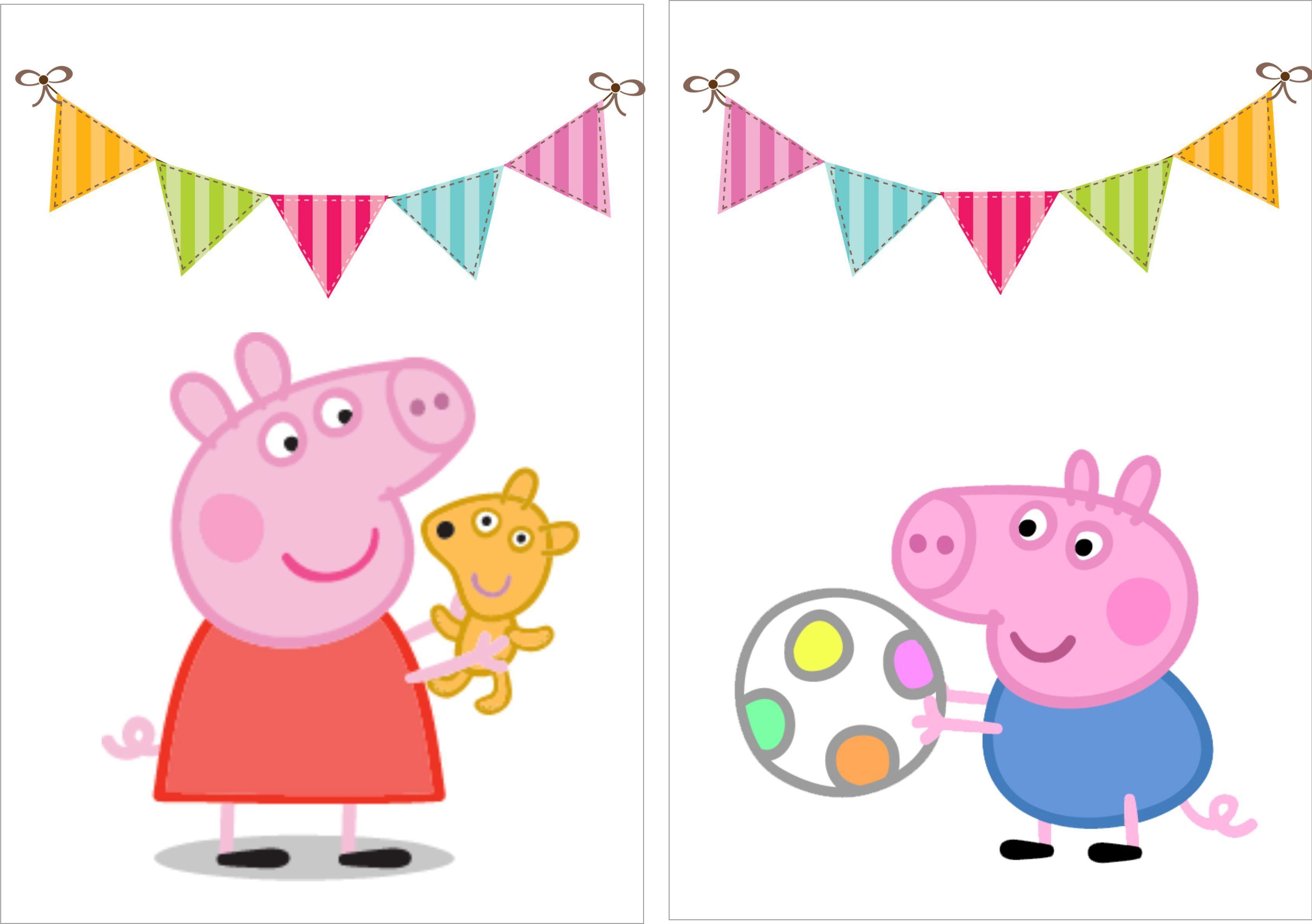 Вафельная картинка свинка пеппа и семья