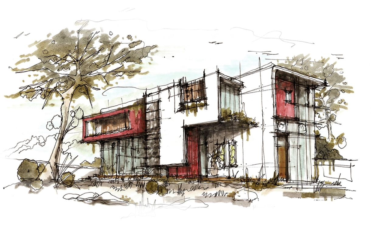 Pin By Anke Lee On Sketches Architecture Drawing Architecture Sketch Architecture Illustration