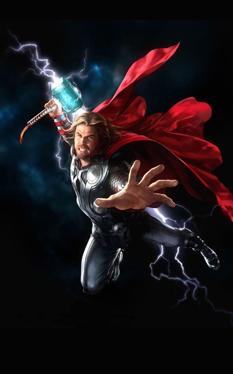 Thor Wallpaper Thor Wallpaper Thor Art Marvel Artwork