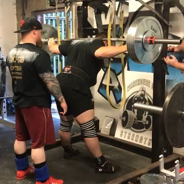 2ab0b4b44e Team Athlete @nickwhitecross89 with some big pauses on 220kg for a triple!  - Nick