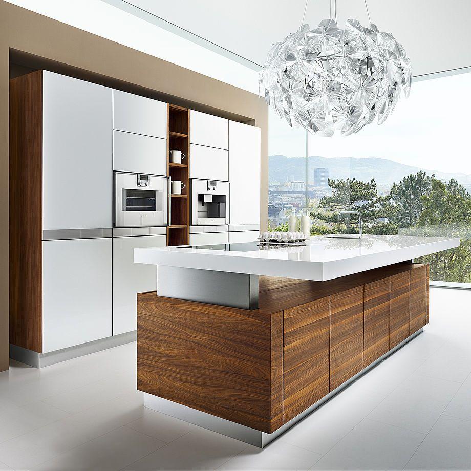 K7 Die Hohenverstellbare Kochinsel Von Team 7 Minimalistische Kuche Design Fur Zuhause Kochinsel